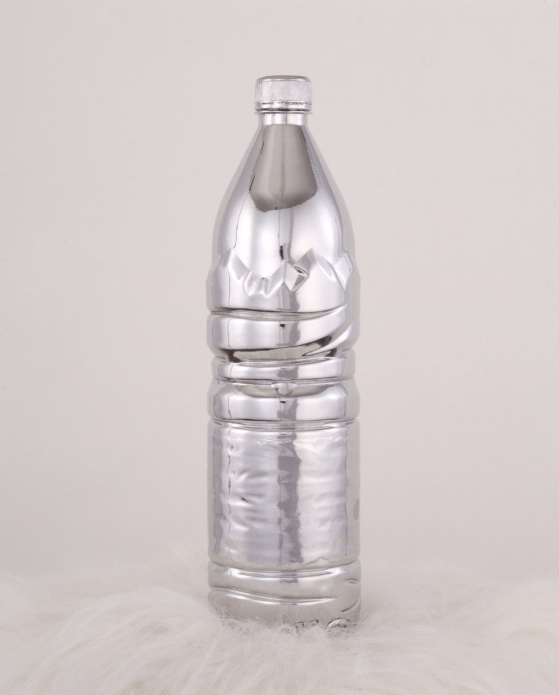 Sylvie Fleury, Evian Bottle, 1998