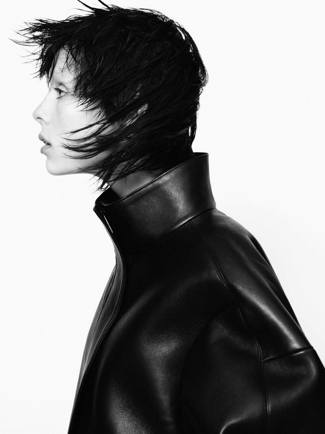 Jil Sander campaign, A/W 2013/2014, model: Edie Campbell
