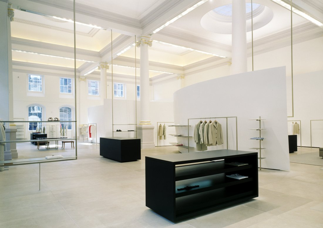 Jil Sander Flagship Store London, 2002