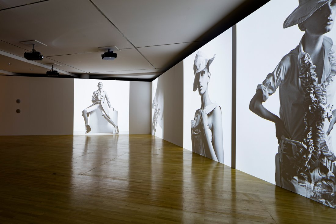 "View of the Exhibition ""Jil Sander. Present Tense"",   2017, Museum Angewandte Kunst"