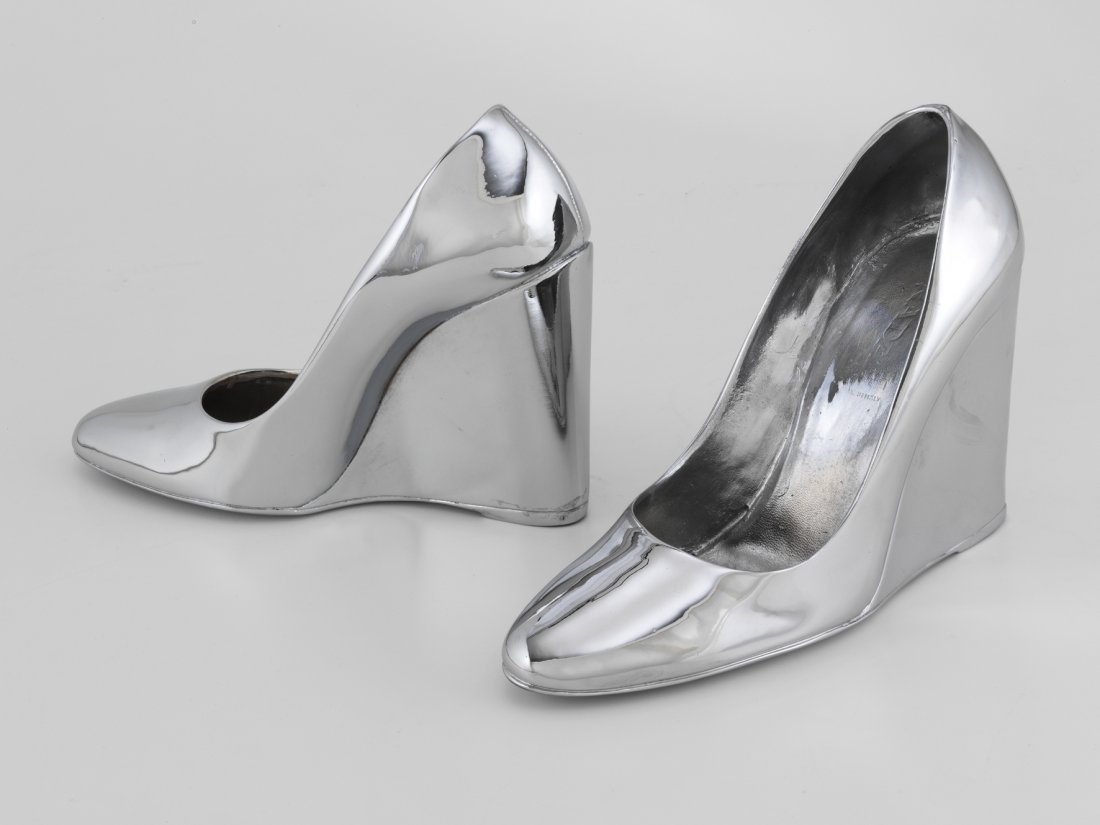 Sylvie Fleury, Prada Shoes, 2003, Courtesy of the artist and Sprüth Magers