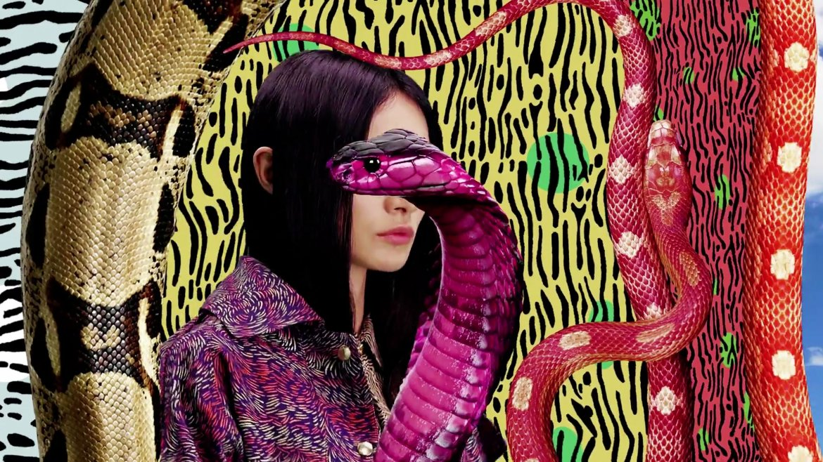 KENZO, aus/from: Electric Jungle /Women Resort Collection, 2013