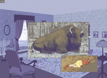 Richard McGuire Here, Pantheon Books, New York 2014-2-ZeitRaum-MuseumAngewandteKunst