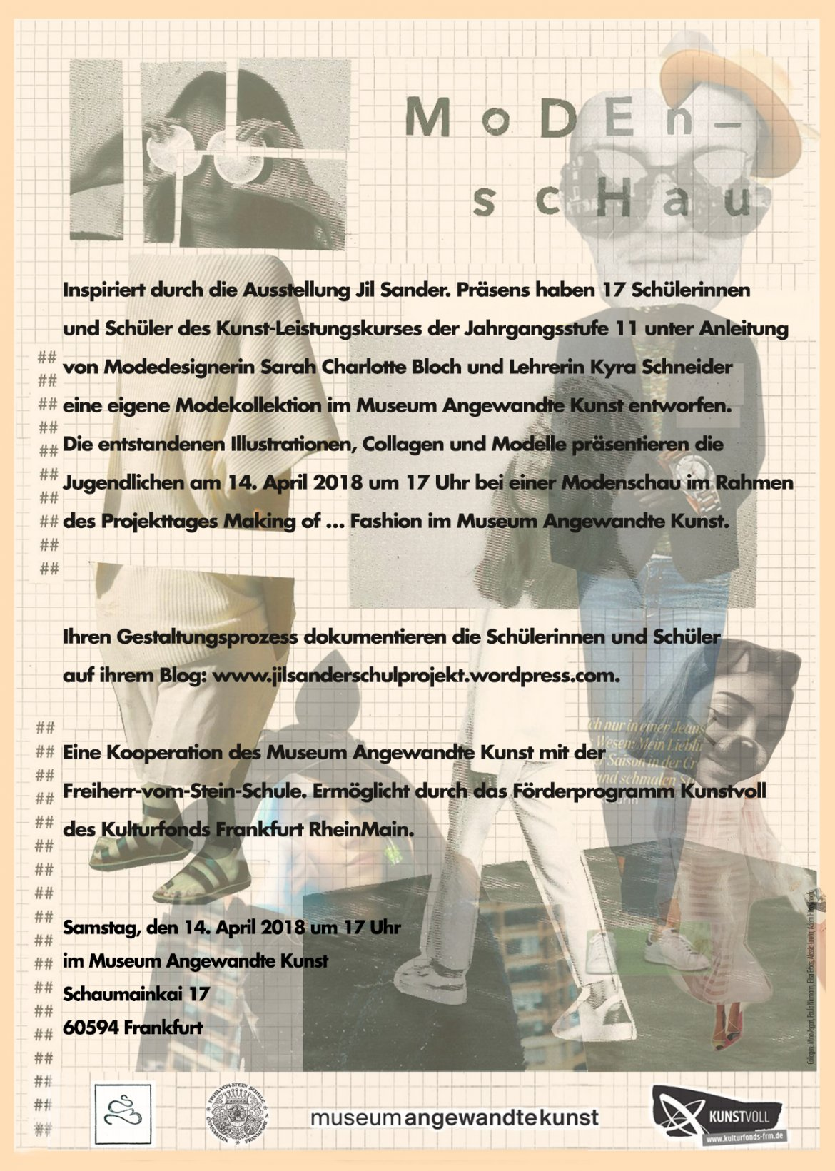 Flyer Back Laufsteg