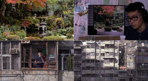 "David Claerbout, videostills ""Radio Piece (Hong Kong)"", 2015 Courtesy the artist and galleries Micheline Szwajcer, Brussels: Sean Kelly, New York; Johnen Galerie, Berlin; Rüdiger Schöttle, Munich, RAY Fotografieprojekte Frankfurt/RheinMain © VG-Bildkunst,"